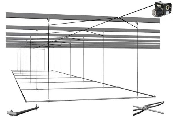Retractable Batting Cage