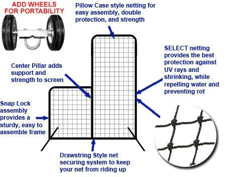 SELECT 7x6 #42 L-Net and Frame