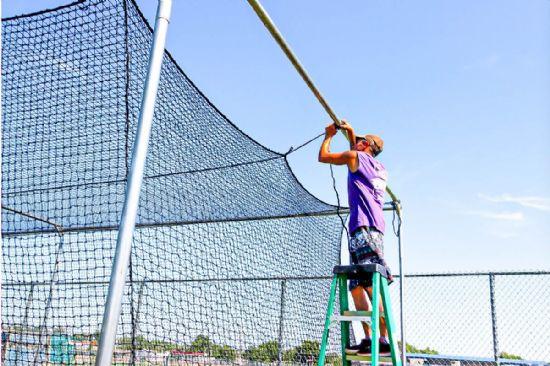 Indoor Baseball Hitting Net