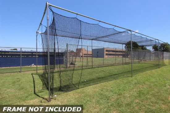 Commercial Batting Cage #42 Net 55x12x12