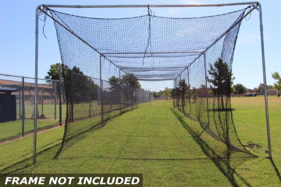 Commercial Batting Cage #42 Net 70x14x12