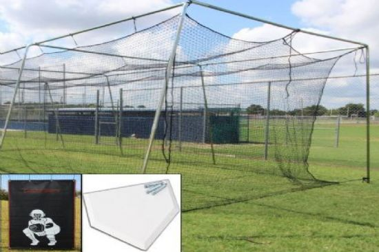 Select Baseball Batting Cage Bundle 2