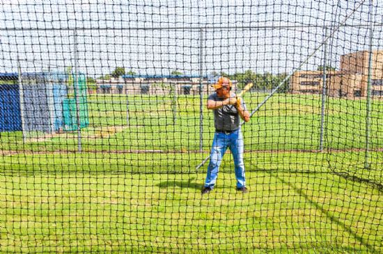 Backyard Baseball Batting Cage