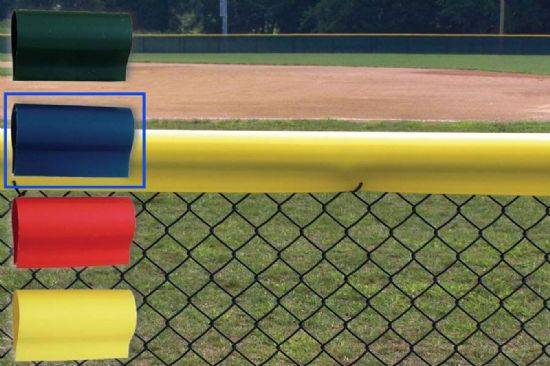 Premium Baseball Fence Crown - Blue