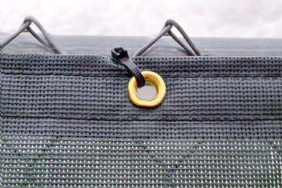 Coated Mech Fence Windscreen