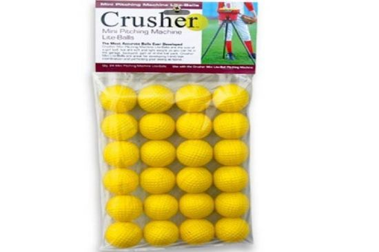 Crusher Mini Pitching Machine Balls