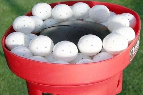 Fast Crusher Mini Poly Balls For Baseball Pitching Machine