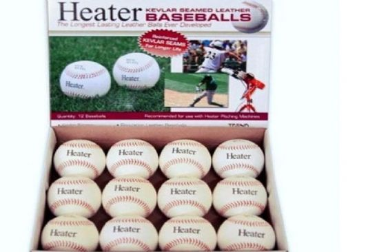 Heater Leather Pitching Machine Baseballs