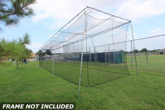 Select #24 Baseball Cage Net 70x12x12