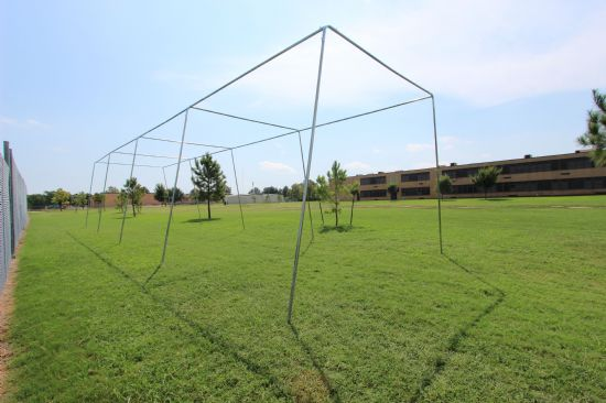 55x12x12 1.5 Stand Alone Batting Cage Frame