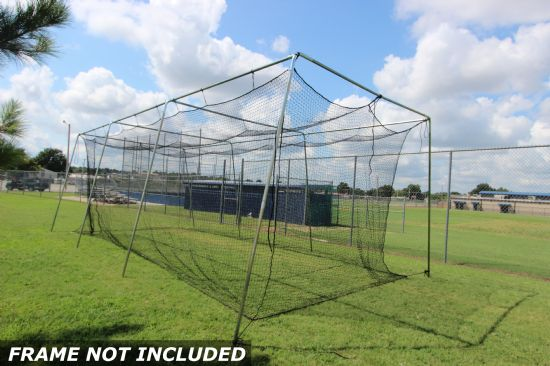 Select #24 Baseball Cage Net 30x12x10