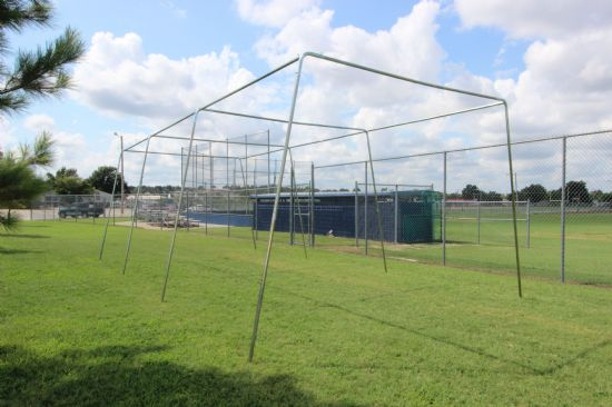 40x12x10 1.5 Stand Alone Batting Cage Frame