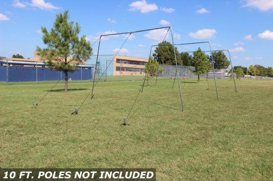 30x12x10 1.5 Batting Cage