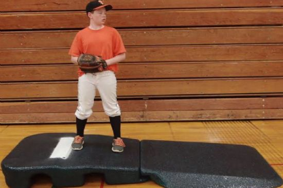Indoor Pro Baseball Practice Mound