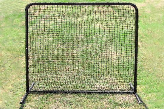 SELECT 7x7 #42 Baseball Fielder Net and Frame