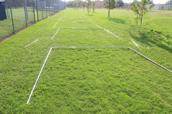 Stand Alone Cable Batting Cage Frame
