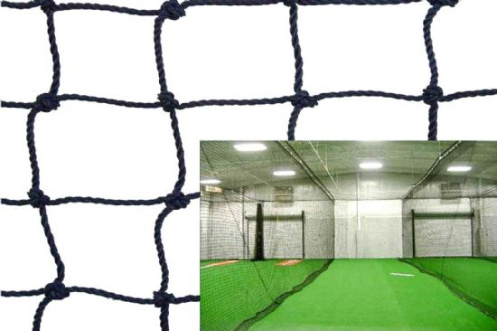 Twisted Poly Batting Cage Net Dividers