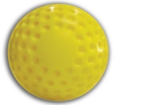 Dimpled Baseballs (Yellow)