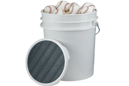Baseball Bucket With Padded Seat