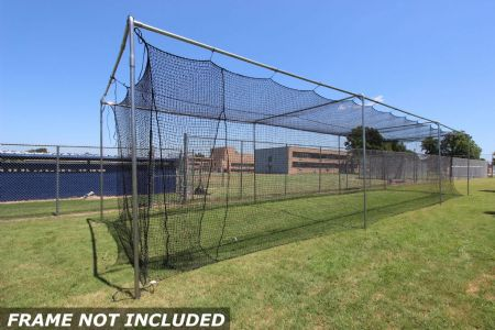 Commercial Batting Cage #36 Net 55x12x12