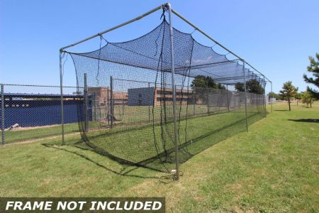 Commercial Batting Cage #42 Net 55x14x12
