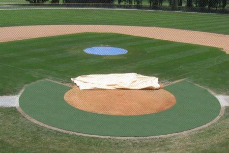Baseball Field Turf Halo