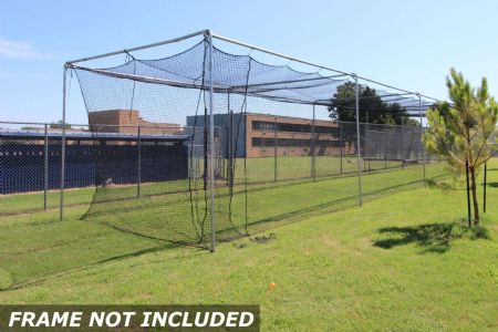 Commercial Batting Cage #42 Net 70x12x12