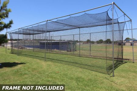 Commercial Batting Cage #36 Net 70x14x12