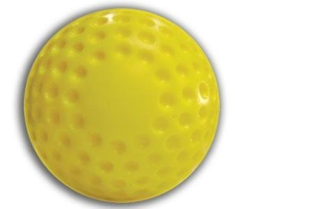 Cimarron 12' Dimpled Yellow Pitching Machine Balls
