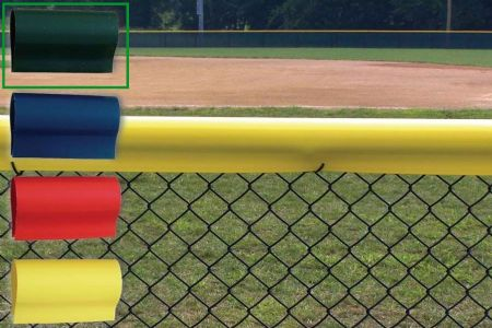 Premium Baseball Fence Crown - Green