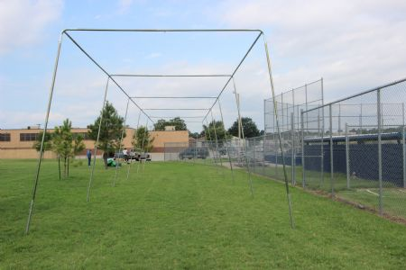 70x14x12 1.5 Stand Alone Batting Cage Frame