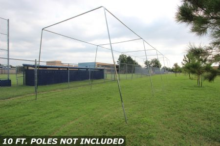 70x12x12 1.5 Stand Alone Batting Cage Frame