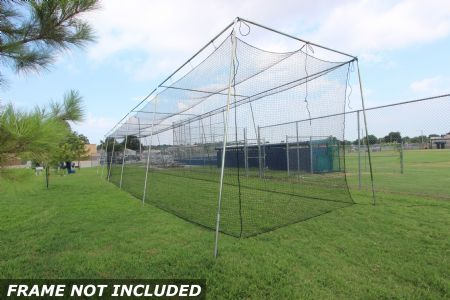 Select #24 Baseball Cage Net 70x12x12