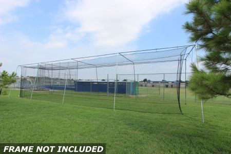 Select #24 Baseball Batting Cage NET 55x12x12