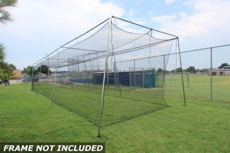 Select #24 Baseball Cage Net 60x12x10