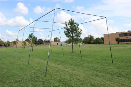 30x12x10 1.5 Stand Alone Batting Cage