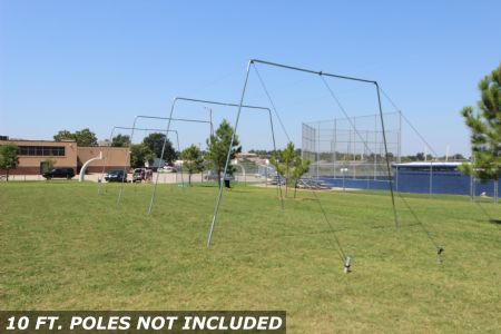 55x12x12 1.5 Batting Cage For Baseball