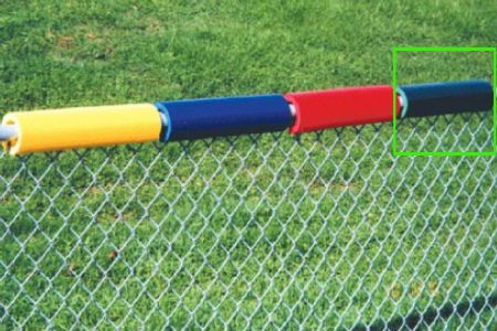 Premium Green Safe Baseball Fence Topper Foam