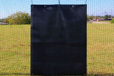 SELECT 4x6 Rubber Baseball Backstop