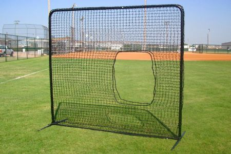 SELECT 7x7 #42 Softball Pitching Net and Frame