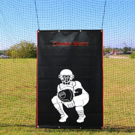 SELECT 4x6 Rubber Baseball Backstop