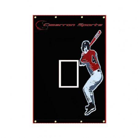 SELECT 5x7 Vinyl Baseball Backstop