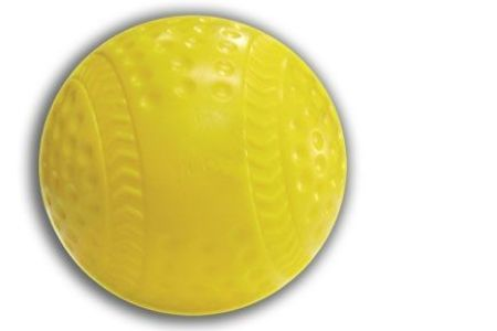 Cimarron Yellow Seamed Pitching Machine Baseballs