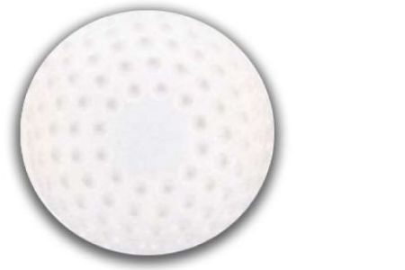 Dimpled Baseballs (White)