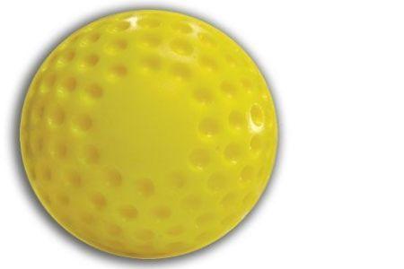 Dimpled Baseballs (Yellow)