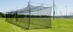 Commercial Batting Cage Complete 2 In. Cable Frame with #42 Net