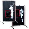 2-Sport Catcher Vinyl Backstop & Frame
