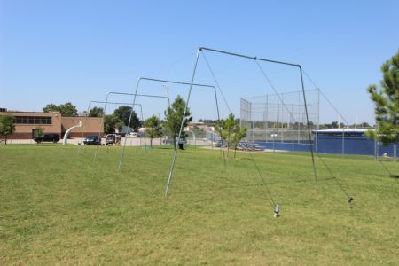 55x14x12 1.5 Baseball Batting Cage For Sale