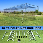 SELECT 70x14x12 Residential Batting Cage and Frame Corners